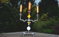lampa sfesnic steampunkdesigncj lampa steampunk