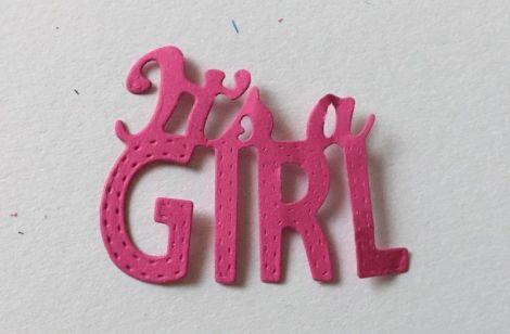 Set Its a girl pretaiat