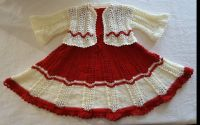 Rochita tricotata cu bolero  3 - 4 ani
