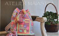 geanta decorata cu motiv popular Oltenia flori