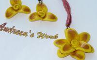 "Set ""Golden Flowers"
