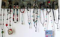 Cuier  organizator bijuterii  chei - handmade