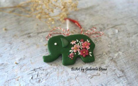 Elefant inflorat