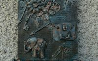 Memories - Cuier chei  bijuterii - handmade
