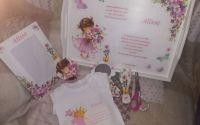 Set mot fetita cu Flori