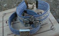 Forever in blue jean-set 2 bratari- boho hippie