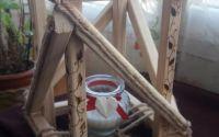 Felinar din lemn