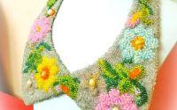 Colier flori de primavara