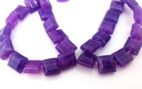 Aventurin purple pernute 8 x 5 mm