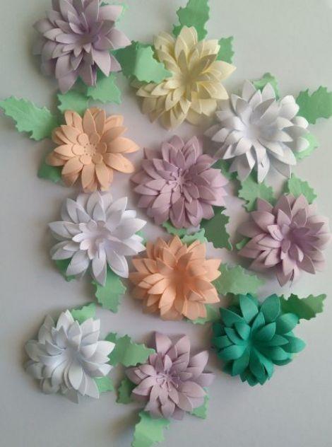 Flori 3D-5cm