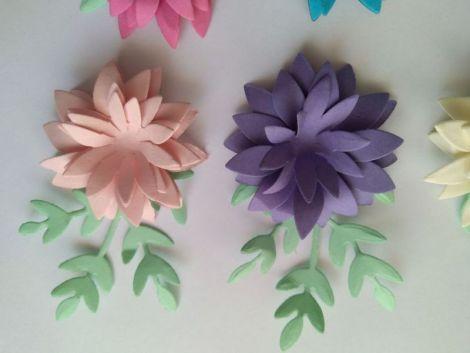 Flori 3D 3 cm
