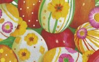 1750 Servetel oua vopsite cu flori