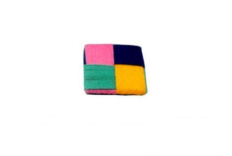 Brosa Set brose - Pete de culoare- square textile