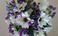 Buchet mireasa flori artificiale