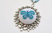 Pandantiv Fluturas bleu