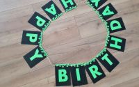 "Ghirlanda personalizata ""HAPPY BIRTHDAY"" Slime"
