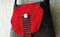 geanta texturi stofa tricot   grirosu