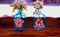 Vaza sticla decorativa