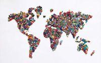 Harta Lumii Quilling