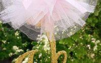 Topper balerina accesorizat