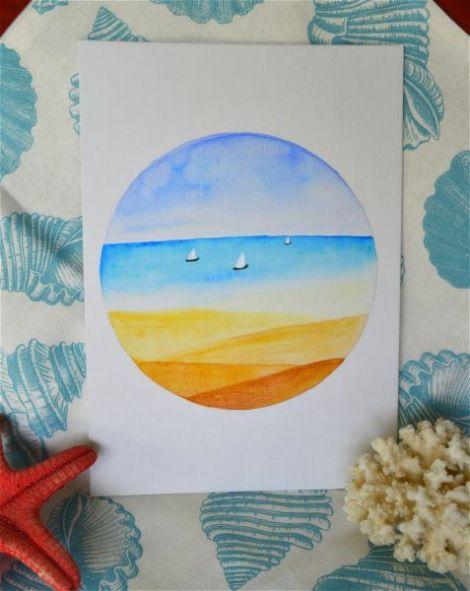 Tablou Sail away