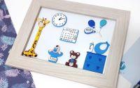 Tablou personalizat pentru bebelusi