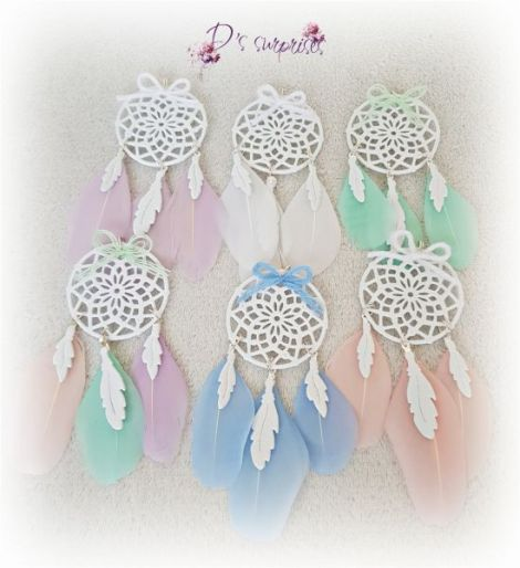 Mini dreamcatcher marturii