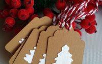 Set etichete pentru cadouri- Craciun