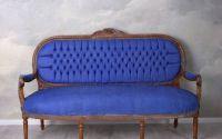Sofa Madamme Pompandour din lemn mahon