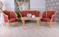 Set baroc din lemn masiv auriu
