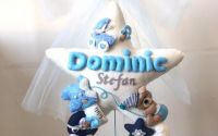 Decoratiune fetru personalizata pentru copiii