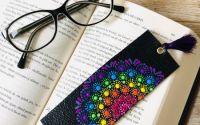 Semn de carte din piele -Madala design