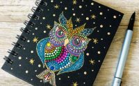 Mandala Design - Agenda cu spirala - Night Owl