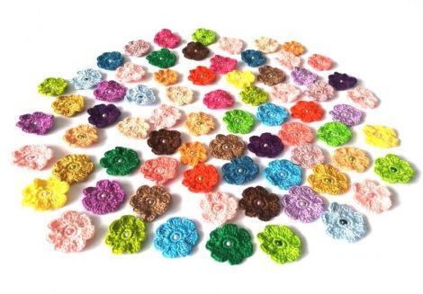Lot 50 floricele multicolore