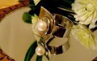 Inel cu perla Swarowski