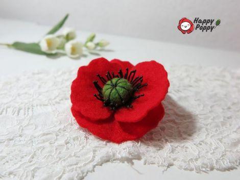 Brosa Happy Poppy