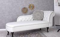 Sofa din lemn masiv negru cu tapiterie din piele