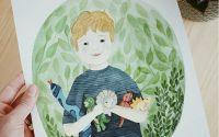 Portret de copil - LA COMANDA