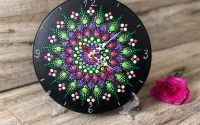 Mandala Flower - Ceas perete