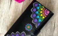 Mandala Design - Portofel piele