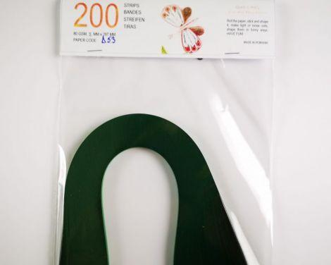 Verde padure Hartie quilling 5 mm 80 gr D53
