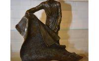 Arab vanzator de carpete- statueta din bronz