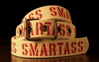 Smartass - curea handmade