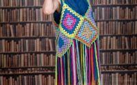 Sarafan accesorizat cu multe culori