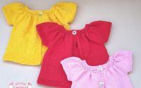 Pulovere tricotate pentru bebelusi