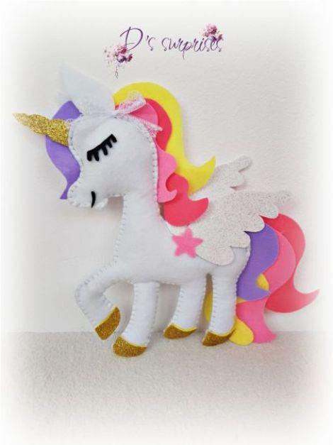 Unicorn decorativ