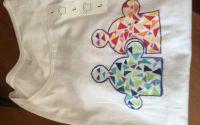 tricou hand made marimea L