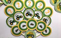 Toppers candy bar-tractoras