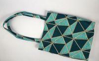 Tote bag print geometric