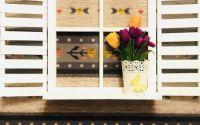Fereastra decorativa pentru gradina curte perete
